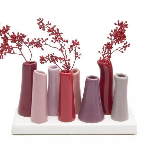 """""""Pooley"""" Vase - Sangria"""