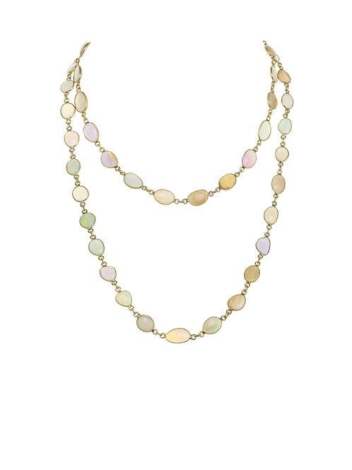 Margo Morrison - Ethiopian Opal & 18kt Gold Vermeil Necklace