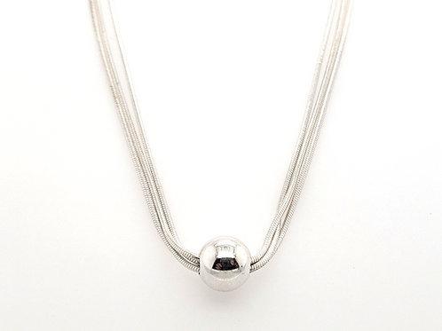 """""""Cape Cod"""" Necklace - Triple Chain"""
