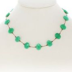 Chrysoprase Necklace - Margo Morrison