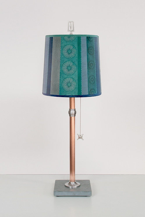 Small Copper Table Lamp
