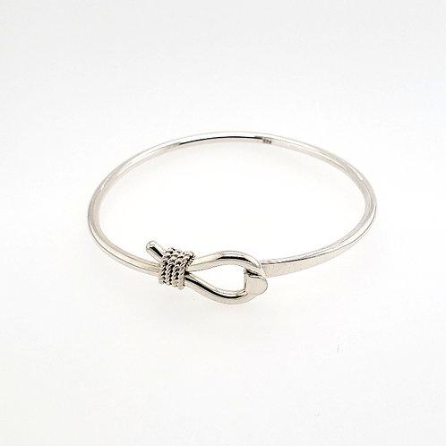 Nautical Rope Bracelet - Sterling Silver