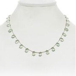 Green Quartz Necklace - Margo Morrison