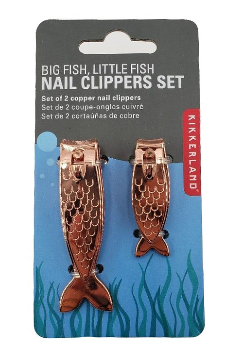 """Copper """"Fish"""" Nail Clippers"""