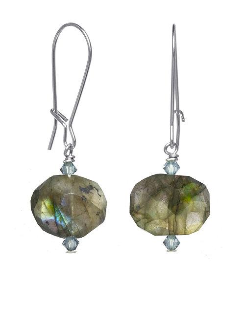 Margo Morrison - Labradorite & Sterling Silver Earrings
