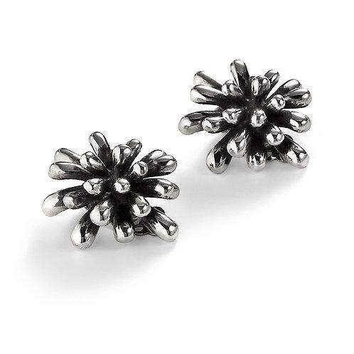 """Fireworks"" Earrings (Large) - Sterling Silver"