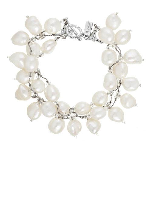 """Dancing Pearl"" Multi Strand Bracelet"