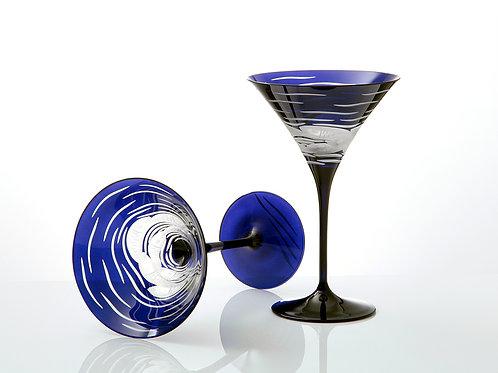 "Artel - ""Sardinky"" Crystal Martini - Set of Two"