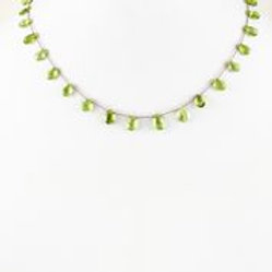 Peridot Necklace (Short) - Margo Morrison
