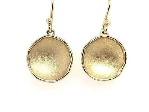 """Pod"" Earrings - 18kt Gold Vermeil"