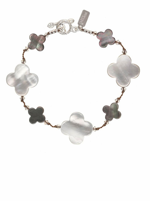Mother of Pearl & Abalone Bracelet - Margo Morrison