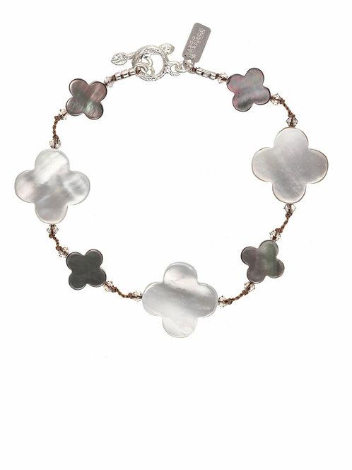 Mother of Pearl & Abalone Bracelet - Margo Morrison