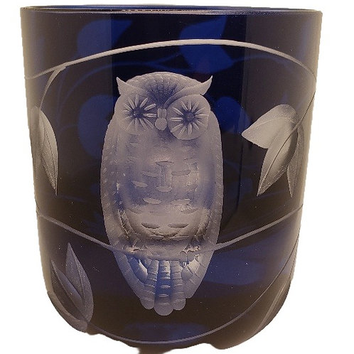 """Night Owl"" Crystal Votive - Artel"