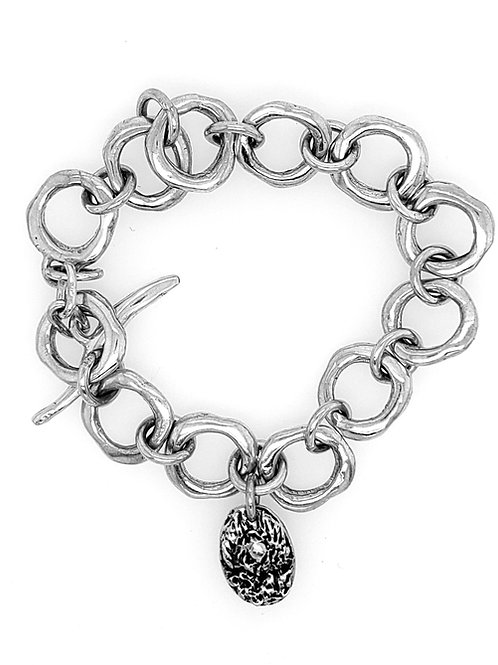 Toggle Bracelet - Sterling Silver