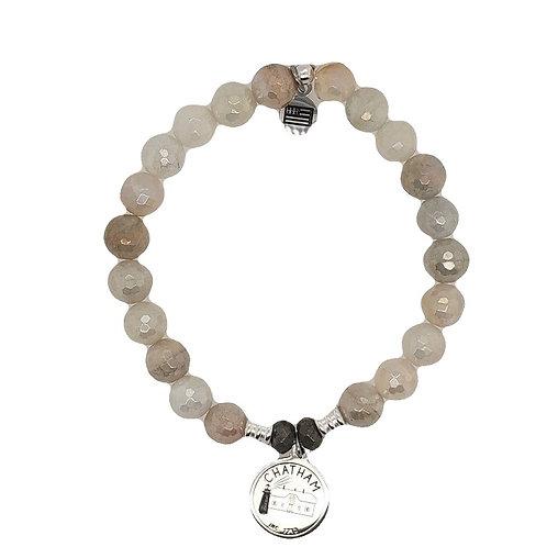 Chatham Charm Bracelet - Sterling Silver & Moonstone