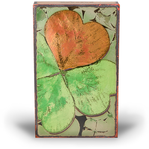 """Lucky"" - Spirit Tile by Houston Llew"