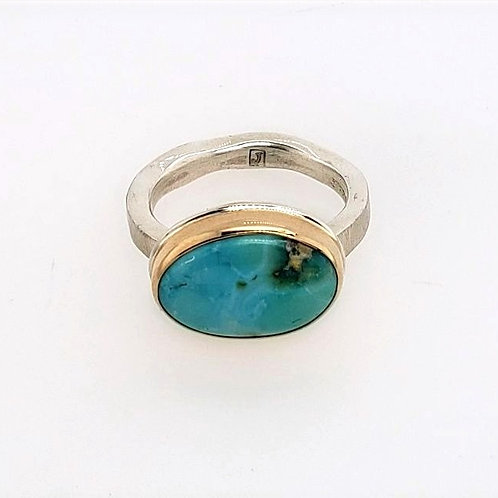 Jamie Joseph - Sonoran Mountain Turquoise Ring
