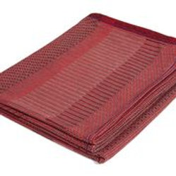 """Wallace & Sewell Cotton Throw - """"Una"""" Fuoco"""