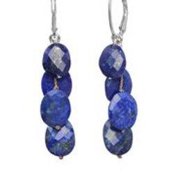 Lapis & Sterling Silver Earrings - Margo Morrison