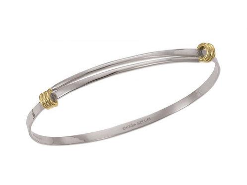 Petite Signature Bracelet - Sterling & 14kt