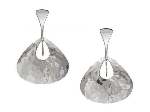 """Jamaica"" Earrings - Sterling Silver - Ed Levin Studio"