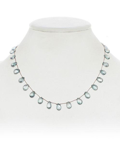 Margo Morrison - Green Topaz Necklace