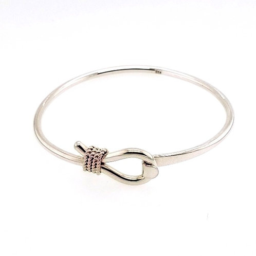 Nautical Rope Bracelet - Sterling Silver