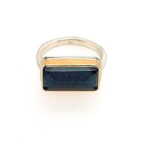 Jamie Joseph - Moss Aquamarine Ring