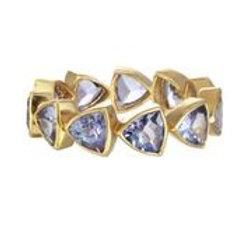 18kt Gold & Tanzanite Ring - Margo Morrison
