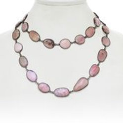 Pink Opal Necklace - Margo Morrison
