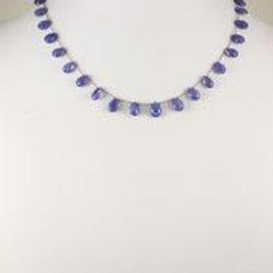 Tanzanite Necklace - Margo Morrison
