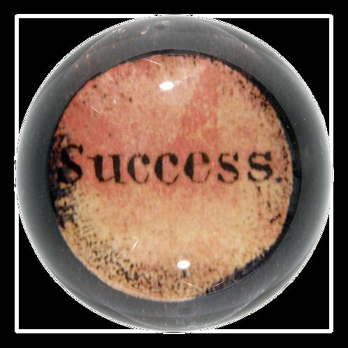 """John Derian - """"Success"""" Dome Paperweight"""
