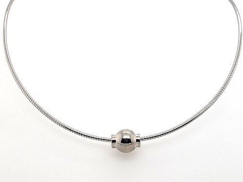 """""""Cape Cod"""" Omega Necklace - Sterling"""
