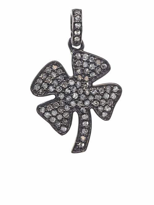 Diamond Four Leaf Clover Charm - Margo Morrison