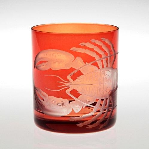"""Lobster"" Motif Crystal DOF - Set of Two"
