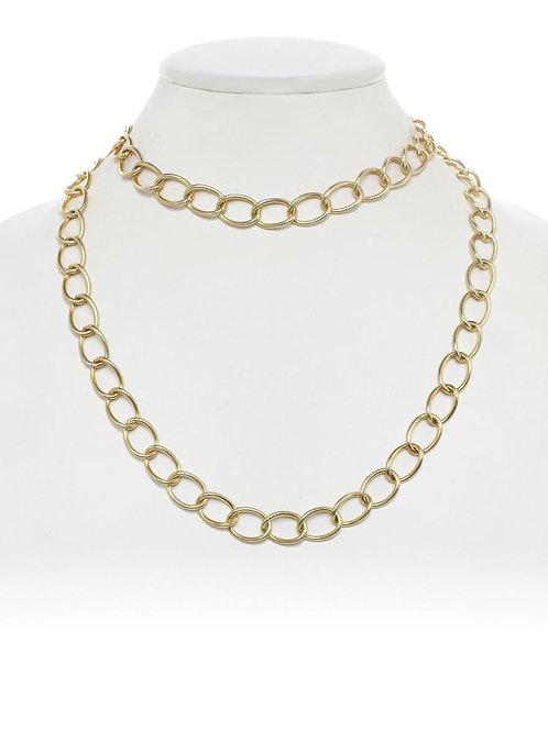 18kt Gold Vermeil Open Link Chain - Margo Morrison