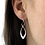 "Thumbnail: ""Feather"" Earrings - Sterling Silver - Ed Levin Studio"