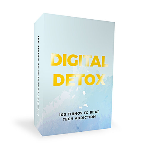 Digital Detox - 100 Thing To Do To Beat Tech Addiction