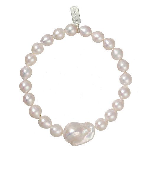 Margo Morrison - Small Baroque Pearl Bracelet