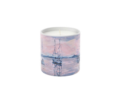 """""""Sun Kissed Sails"""" Candle"""