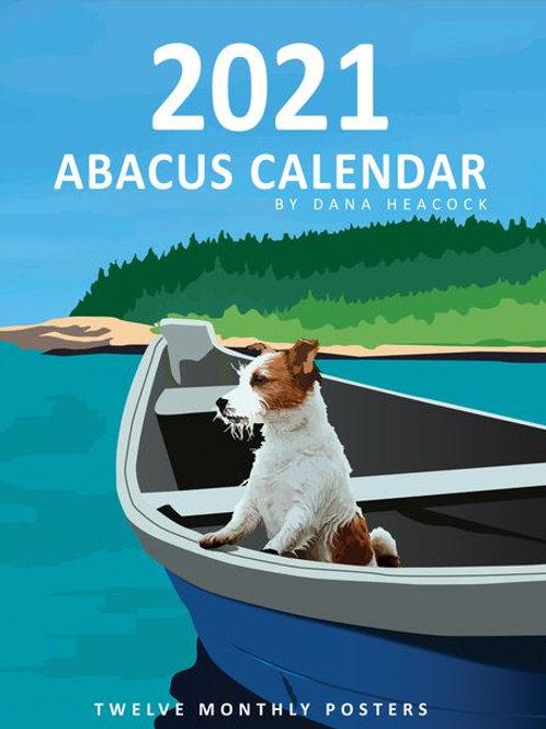 Abacus 2021 Poster Calendar by Dana Heacock