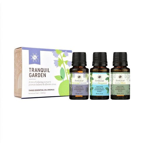 """Tranquil Garden"" - Trio of Essential Oils"