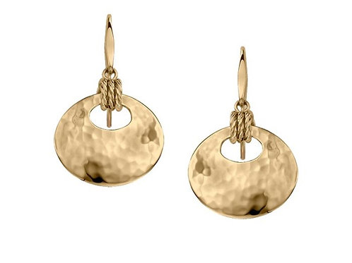 """Knot-i-cal"" Earrings - 14kt Gold - Ed Levin Studio"