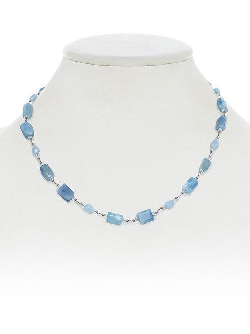 Margo Morrison - Aquamarine Combination Necklace