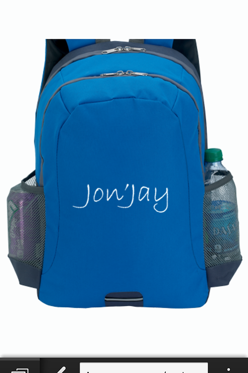 Jon'Jay Reflective Sport Backpack -Available in black