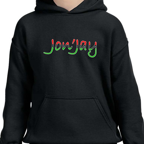 "Jon'Jay ""Heritage"" Hoodie -Available in long and short sleeve tee"