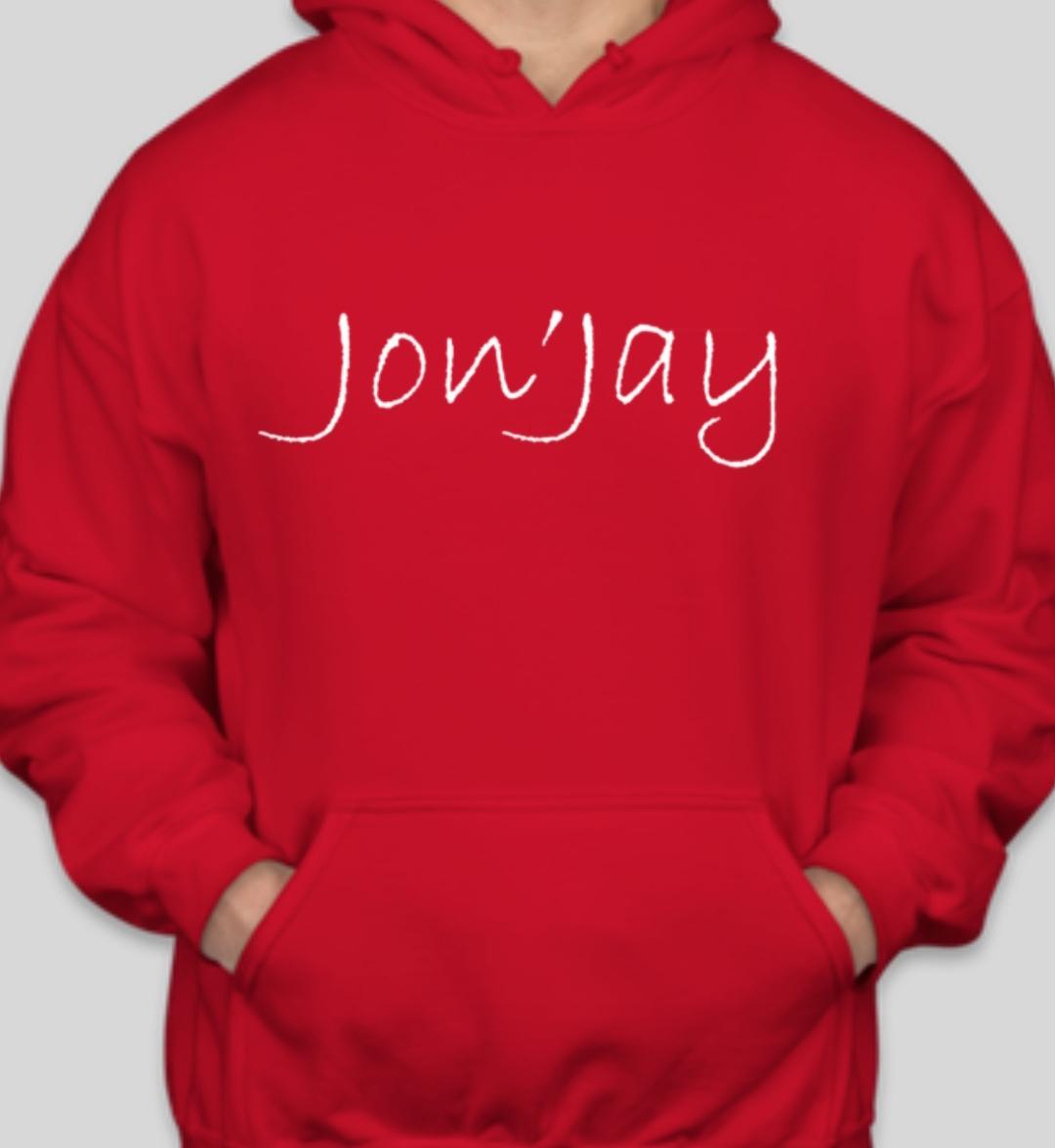 Jon'Jay Red Hoodie