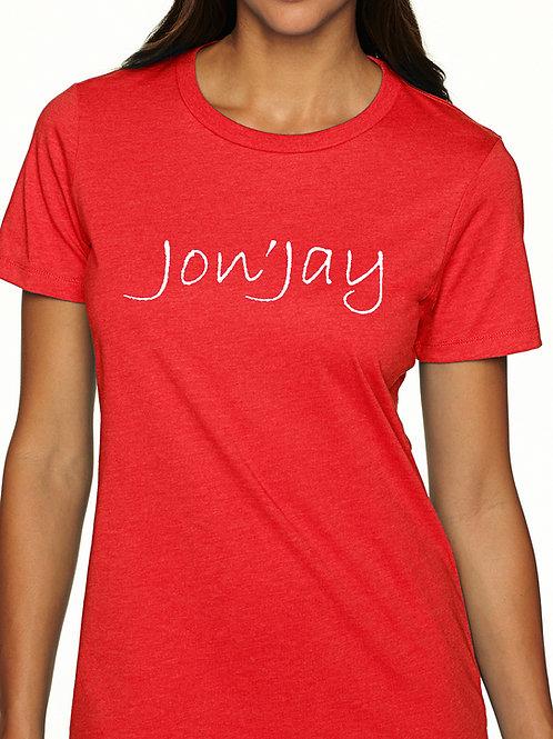 Ladies crew neck Jon'Jay Tee