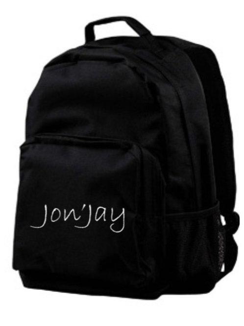 Jon'Jay Black Commuter Backpack