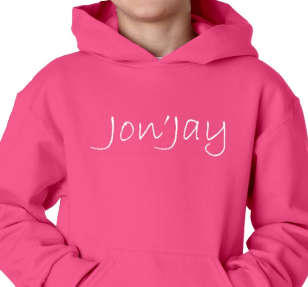 Jon'Jay Pink Hoodie